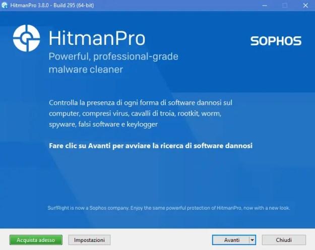 hitmanpro01 - HitmanPro: una sicurezza contro i malware