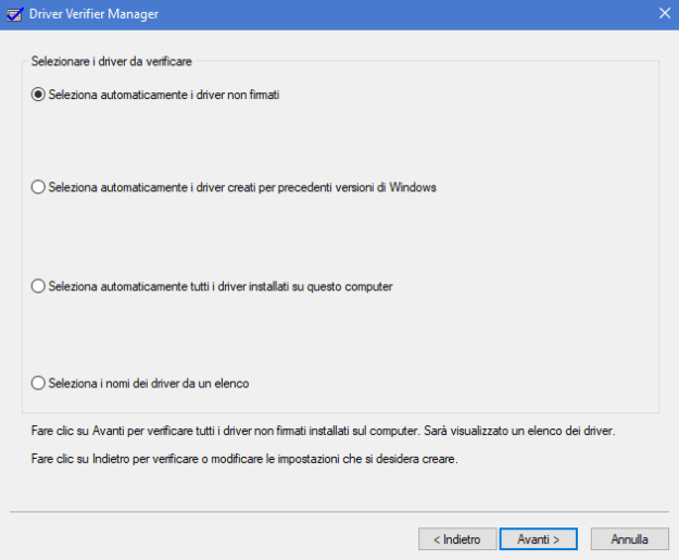 verifier02 - Come risolvere l'errore SYSTEM_SERVICE_EXCEPTION
