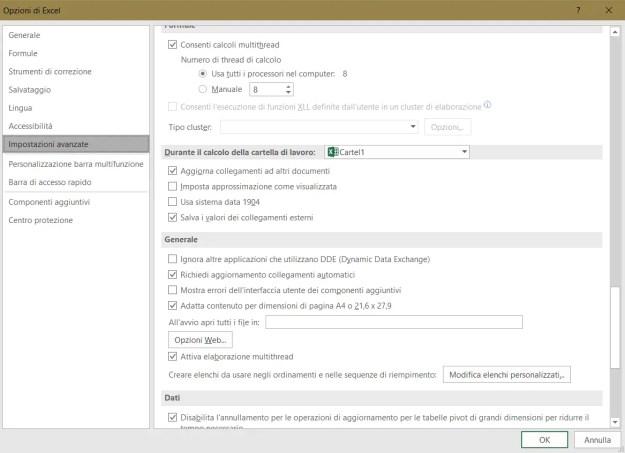 excel02 - FIX: Excel non apre i file e mostra un file vuoto