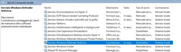 WDscreen - FIX: Windows Defender non risponde o non si attiva
