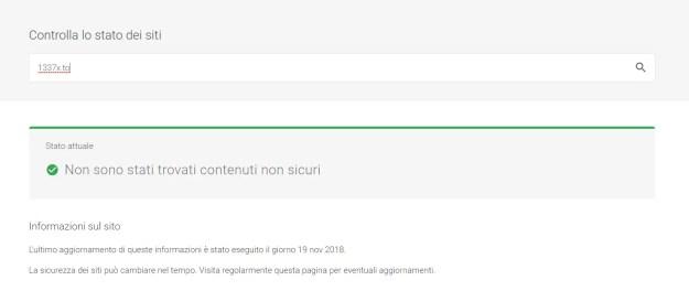 malwarechecker1337 - 1337x.to bloccato da Malwarebytes come fraudolento