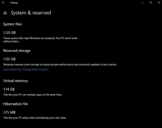 storage reserve cli0 - Windows 10 riserverà 7 GB di spazio per gli aggiornamenti