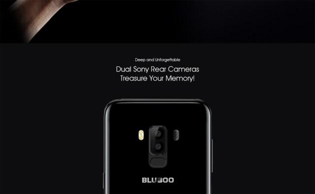 bluboo s8 camera