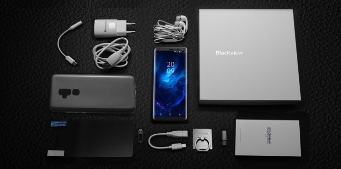 blackview s8 package