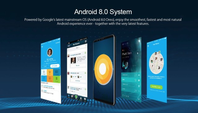 cubot x18 plus android 8
