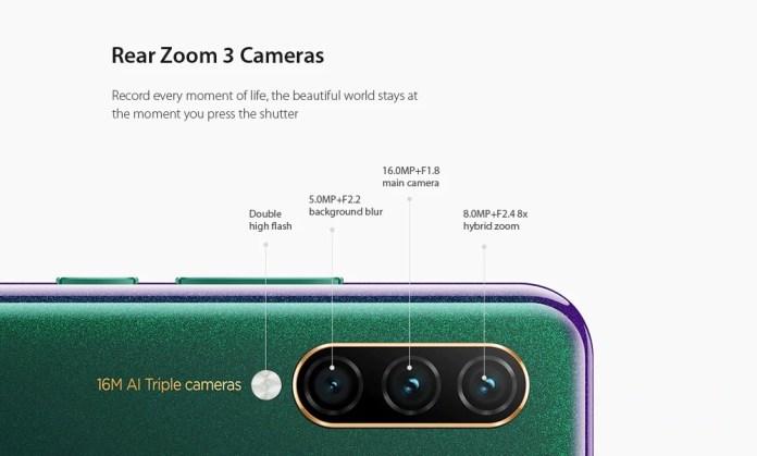 Lenovo z6 lite camera