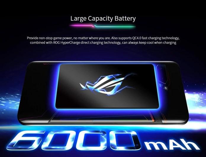 ASUS ROG PHONE 2 battery