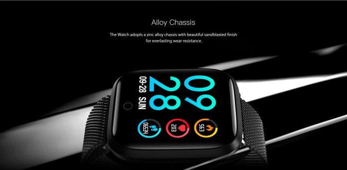 Lenovo E1 Smart Watch body