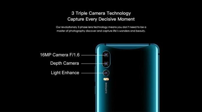 Elephone U2 camera