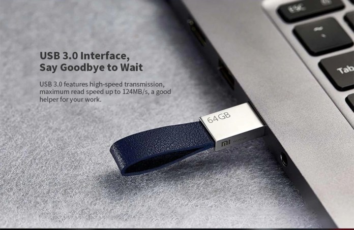 Xiaomi XMUP01QM usb disk leather strap