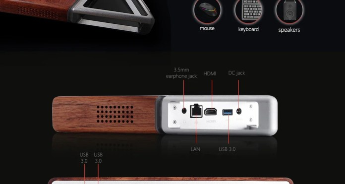 Acute Angle AA mini Pc ports