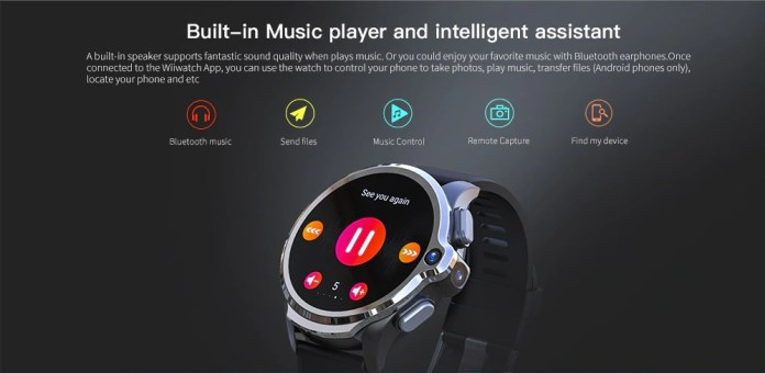 Kospet Prime 4G Android 7.1 Smartphone music player