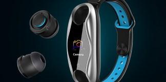 Lemfo LT04 Smartband TWS earphones