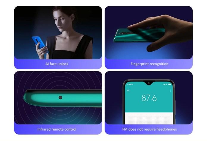 Redmi 8 smartphone extras