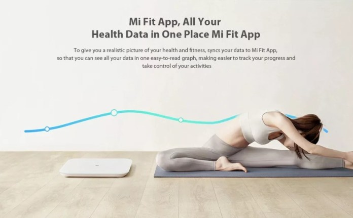 Xiaomi Mi Scale 2.0 Internation edition mi fit