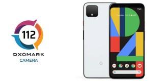 google pixel 4 dxomark