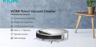 viomi robot vacuum robot
