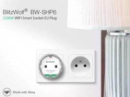 έξυπνη πρίζα Blitzwolf BW-SHP6