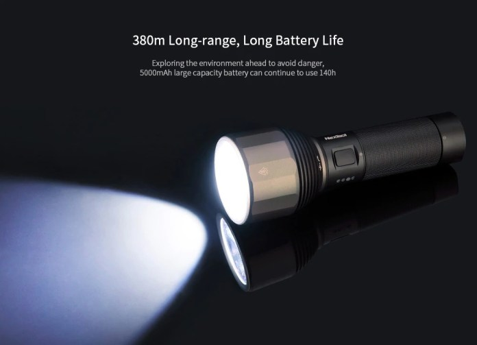 xiaomi nextool flashlight range