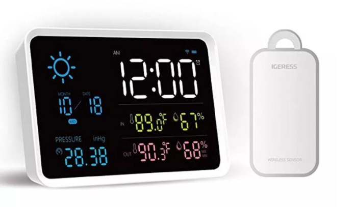 xiaomi yuihome weather station 2