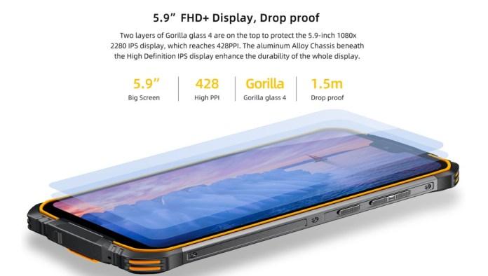 Doogee S68 Pro screen