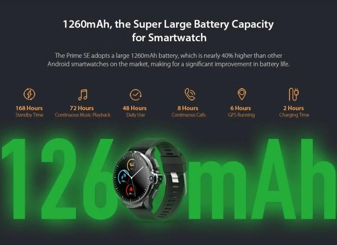 Kospet Prime SE Battery