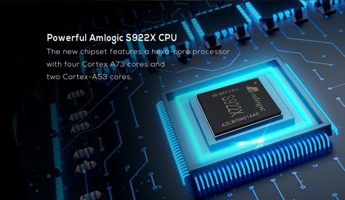 MagicSee N6 Plus Android TV Box S922X CPU