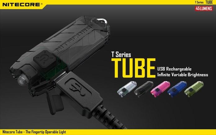 Nitecore TUBE LED Keychain Light