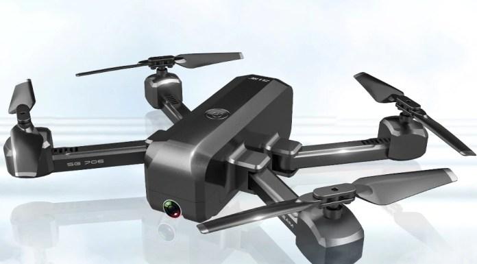 SG706 FPV 4K Drone