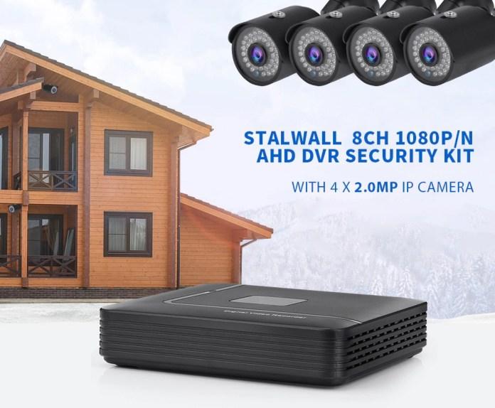Stallwall KA1008 DVR security kit