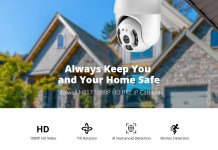 Stalwall N817 Full HD PTZ IP Camera