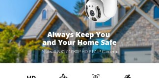 Stalwall N817 Full HD PTZ IP Camera