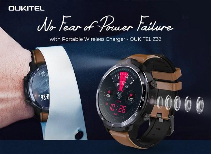Oukitel Z32 4G Smartwatch Gearbest