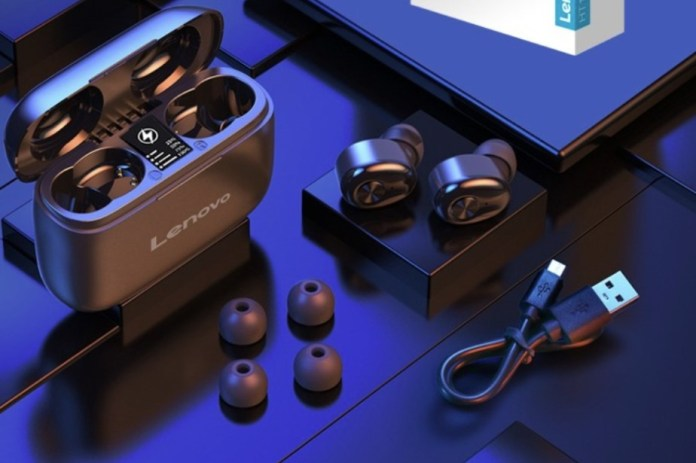 Lenovo HT18 TWS bluetooth 5.0 Earphone HiFi Stereo 1000mAh