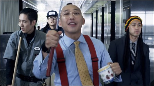 Music Video  Far East Movement wreaks office havoc in  The Illest
