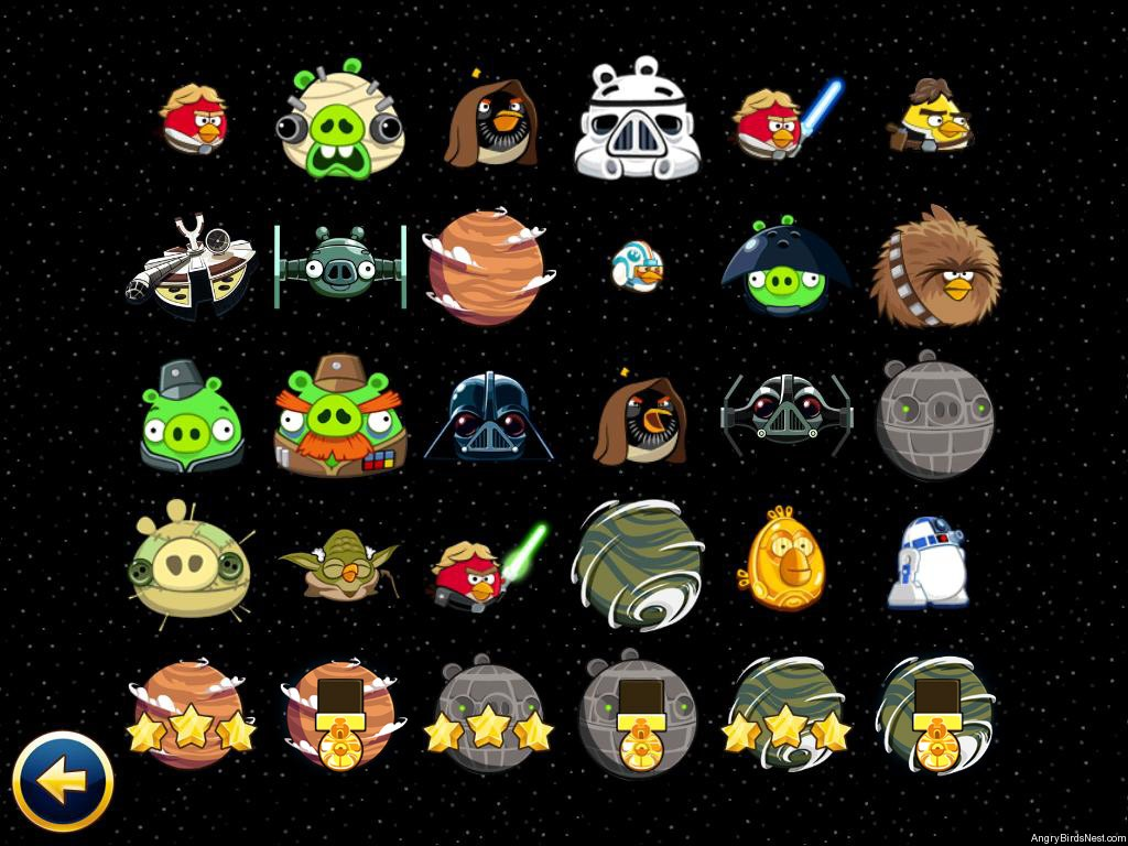 Meet The Angry Birds Star Wars Characters