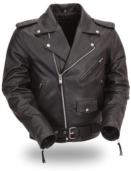 Beatles Black Leather Jacket