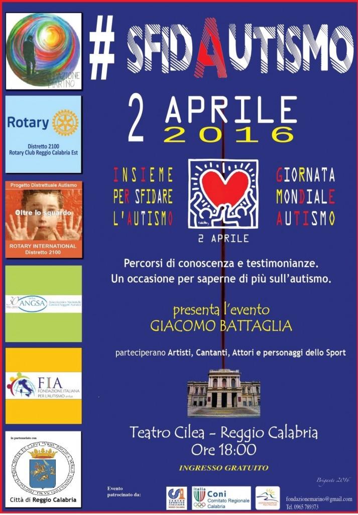 Sfidautismo Reggio Calabria Locandina 2 aprile 2016_sito