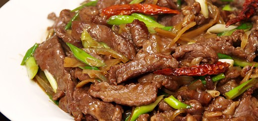Beef and Ginger Stir Fry