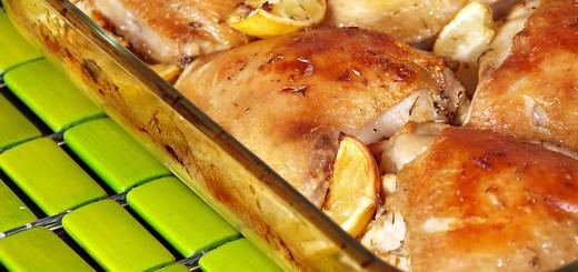 Roast Lemon and Thyme Chicken