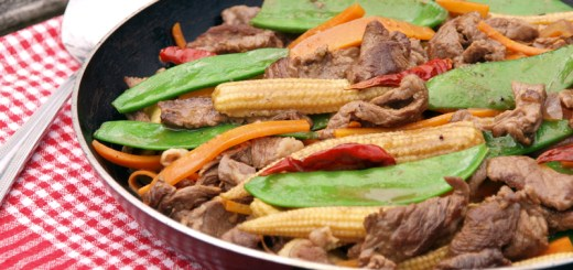 Thai Style Stir Fried Beef