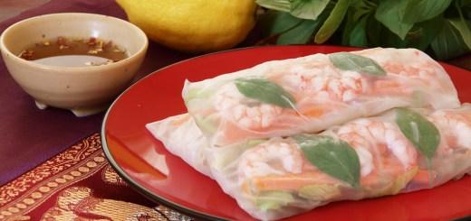 Goi Cuon (Vietnamese Summer Rolls)