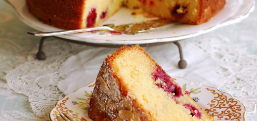 Guest Post : Allison from Pease Pudding featuring Bakewell Cake 2