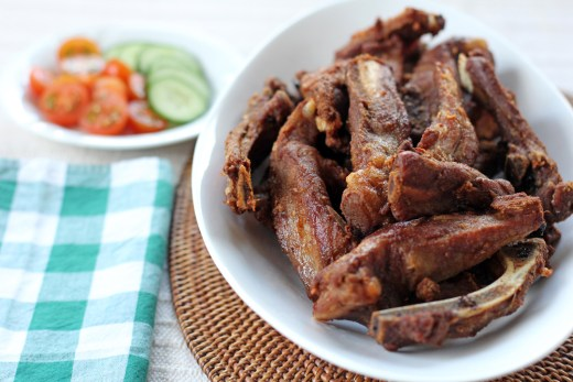 Crispy Five Spice Pork Ribs
