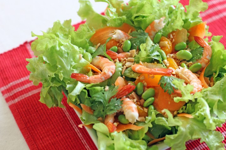 Shrimp Salad with Soy and Citrus Vinaigrette