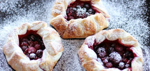Mixed Berry Mini Galettes 1