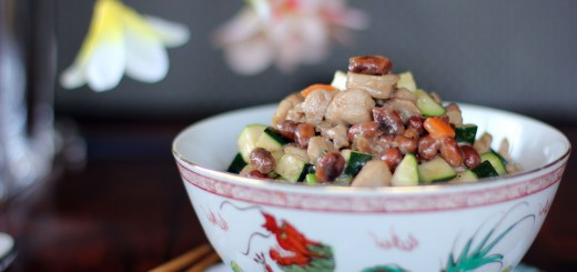 Asian Style Chicken Zucchini and Peanuts 2