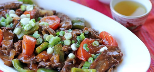 Chinese Beef and Tomatoes 1