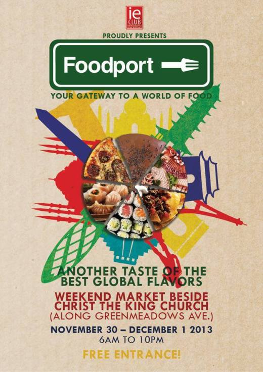 FOODPORT, a food experience that will take your tastebuds around the globe