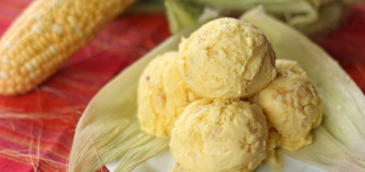 Sweet Corn Ice Cream 1